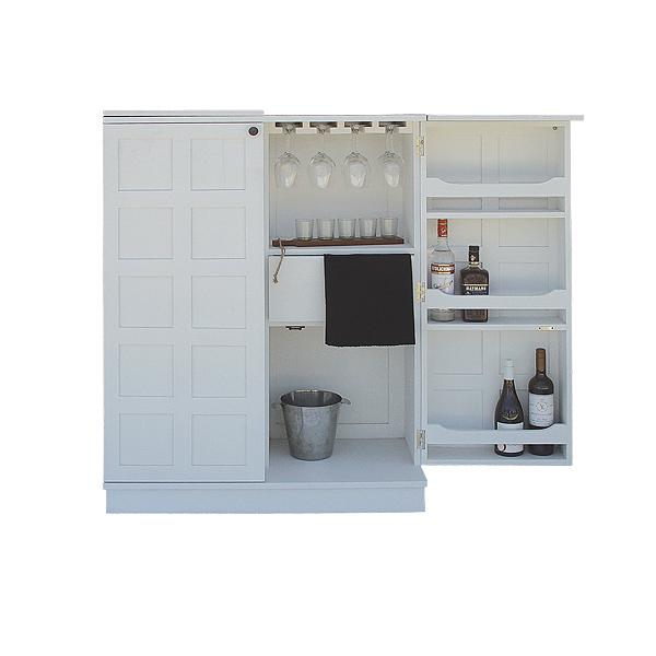 Cellarman Wine Cabinet Satin White