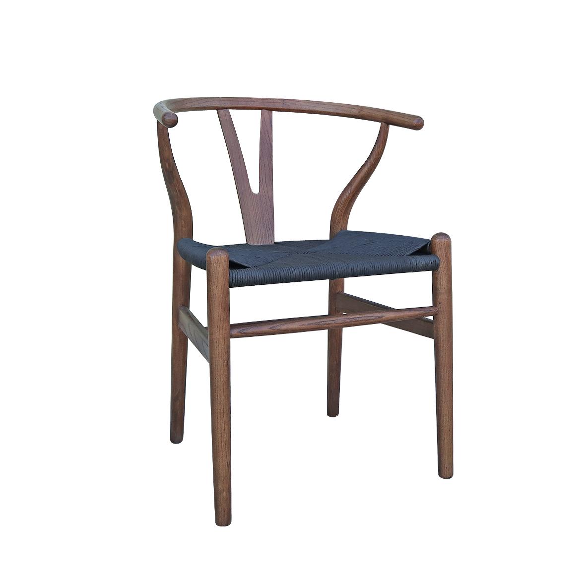 wishbone armchair vintage oak. Black Bedroom Furniture Sets. Home Design Ideas